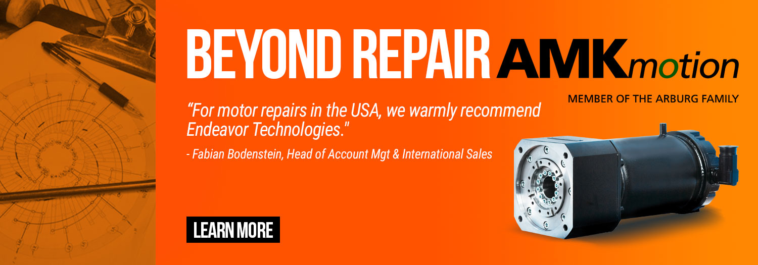 Endeavor Technologies - Beyond Repair - AMK Arnold Mueller authorized service partner