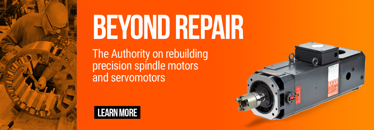 Endeavor Technologies - Beyond Repair - The authority on rebuilding precision spindle motors and servomotors.