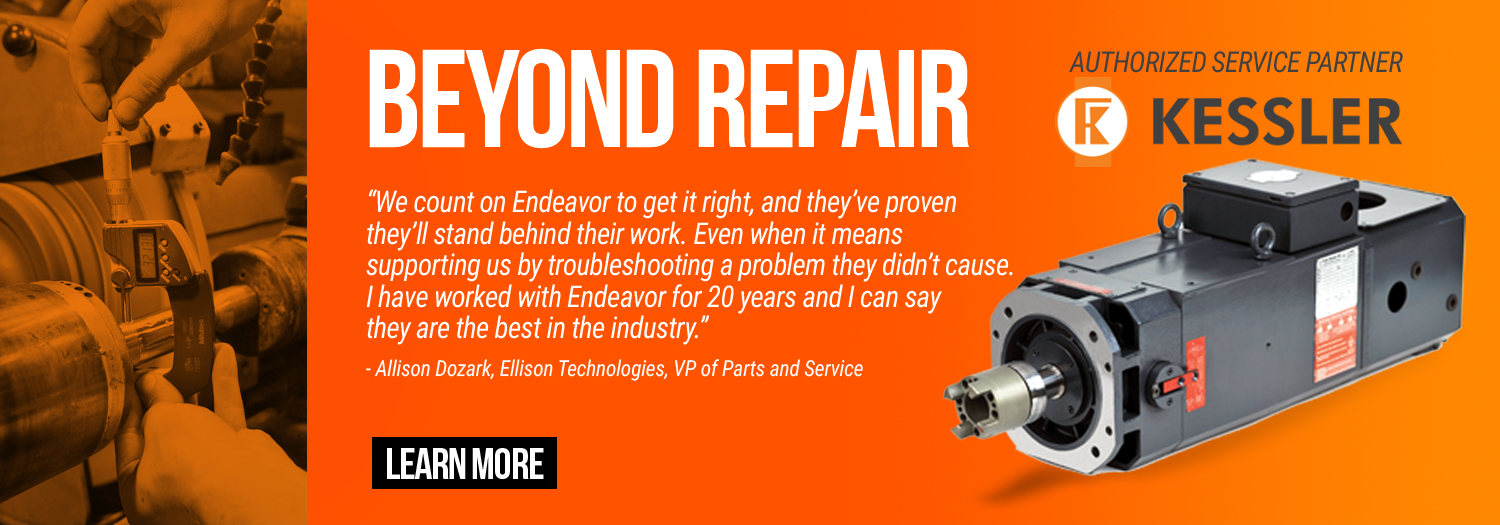 Endeavor Technologies - Beyond Repair - Kessler authorized service partner